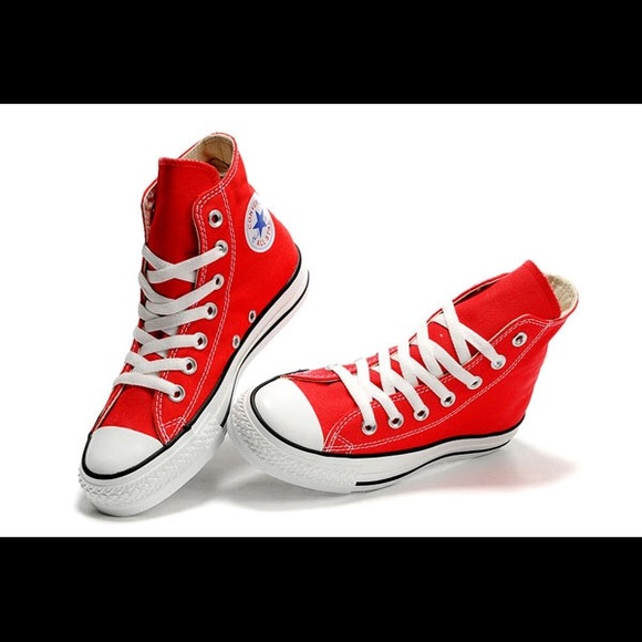 top quality online retailer best supplier Women's Converse High Tops in Red